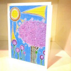 6 Blank Greeting Cards